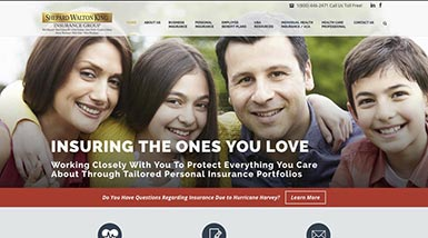Shepard Walton King Insurance Group | Website Design, Search Engine Optimization, Social Media Management, Content Management