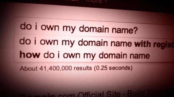 Do I own my name?